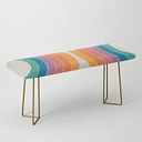 Boca Sonar Bench/ottoman by Circa 78 Designs - Gold
