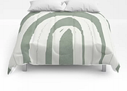 "Abstract Arches Comforters by Flow Line - Full: 79"" x 79"""