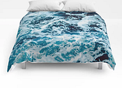 """Lovely Seas Comforters by Cascadia - King: 104"""" x 88"""""""