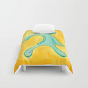 "Bold And Brash Remastered Comforters by Brandon Funk - Twin XL: 68"" x 92"""