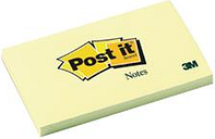 Post-it Notes 76 x 127mm Canary Yellow (12 Pack)
