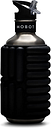 MOBOT Big Bertha Foam Roller Water Bottle - Color: Licorice Size: 40oz