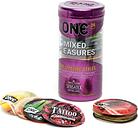 ONE Mixed Pleasures Condoms (24 Pack)