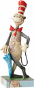 The Cat in the Hat With An Umbrella Dr Seuss Figurine