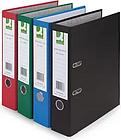10 x Q-Connect Coloured Lever Arch Files, Blue