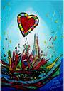 Grafika Kids Anne Poiré & Patrick Guallino - Eclats d'Amour 100 Teile Puzzle Grafika-Kids-01775