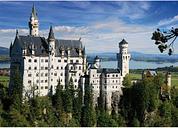DToys Deutschland: Schloss Neuschwanstein 500 Teile Puzzle DToys-75307