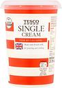 Tesco British Single Cream 600Ml
