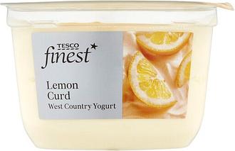 Tesco Finest Lemon Curd Yogurt 150G
