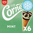 Cornetto Mint Ice Cream Cones 6 X 90Ml