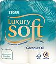 Tesco Luxury Soft Coconut Oil X4