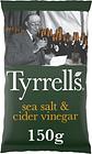 Tyrrells Sea Salted & Cider Vinegar Crisps 150G