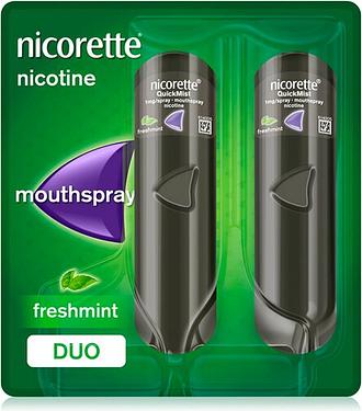 Nicorette Quickmist Mint Spray Duo