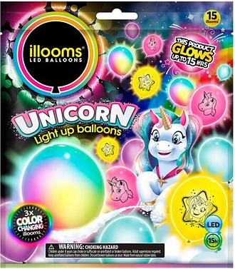 Illoom Unicorn Balloons 15Pk