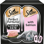 Sheba Perfect Portions Salmon Loaf 3X 2X37.5G