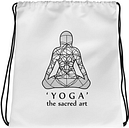 Yoga Drawstring bag_Yoga and meditation gifts