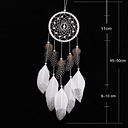 Dream catcher feather wind chime