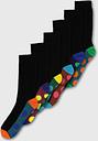 Men's Multi Spot Stripe Stay Fresh Socks 7 Pack