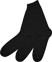 Men's Black Cotton-Rich Ankle Socks 3 Pack
