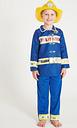 Blue Fire Officer Costume Set