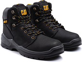 Men's CATERPILLAR Black Striver Lace Up Injected Safety Boot