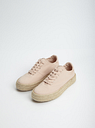Women's OASIS Light Neutral Espadrille Trainers