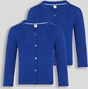 Blue Scalloped Cardigan 2 Pack - Tu Clothing by Sainsbury's