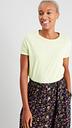 Women's Lime Crew Neck T-Shirt