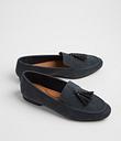 Women's Sole Comfort Grey Tassel Loafer