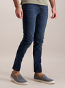 Men's Blue Midwash Super Skinny Denim Jeans With Stretch