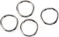 PandaHall 304 Stainless Steel Jump Rings, Close but Unsoldered Jump Rings, Stainless Steel Color, 8x0.9mm; Inner Diameter: 6.2mm Stainless...
