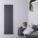 Radiateur design vertical anthracite - Multiples tailles disponibles - Vitality