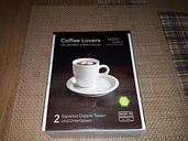 Coffee Lovers - 2 Espresso Doppio Cup And Saucers - Kahla