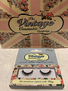 Kitty UK Vintage Cosmetic Company False Eye Lashes Re Usable Adhesive Included