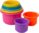 New THE FIRST YEARS STACK UP CUP BABY Development Colorful TOYS Y2341G