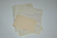 Collection of vintage letters
