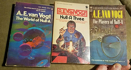 3 Null SeriesBooks A.E.Vogt The World of Null-A, Players of Null-A, Null-A Three