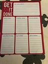Laminated Weekly Planner Get SH!T Done A5