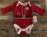 Newborn Santa Baby | Red | Christmas | Baby's First Christmas