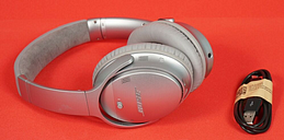 Bose QuietComfort 35 Series II Wireless Noise Cancelling Headphones - Silver