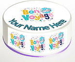 Bon Voyage Cake Topper; Rice Paper,Icing, Personalised decoration.977