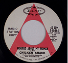CHICKEN SHACK: Worried About My Woman US EPIC 5-10414 Promo Psych Rock 45