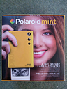 POLAROID Mint Digital Instant Camera - Yellow - + 20 Paper Pack
