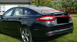 Ford mondeo 5 mk5 saloon / sedan from 2014 rear boot / trunk spoiler new fusion
