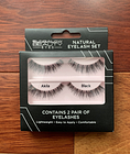 Bungalow Beauty Eyes Natural Eyelash Set 2 Pairs Black Natural Hair Lashes black