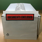 """BOX OF 1,000 x A7 """"DOCUMENTS ENCLOSED"""" printed envelopes/wallets - Tenzalopes"""