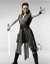 Daisy Ridley Signed Star Wars 10x8 Photo AFTAL