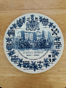 Canadian Centennial Commerative Plate - 1867 - 1967