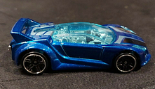 2012 Hot Wheels Limited Edition Quick N Sik Loose 1:64 Blue