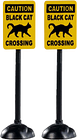 Lemax Spooky Town - Scary Road Signs - NEW